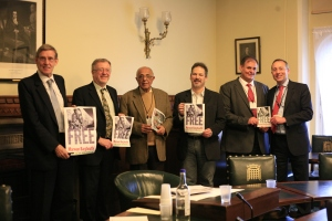 Martin Linton, Richard Burden, Ahmed Kathrada, Dan Judelson, Fadel Takrouri and Andy Slaughter MP